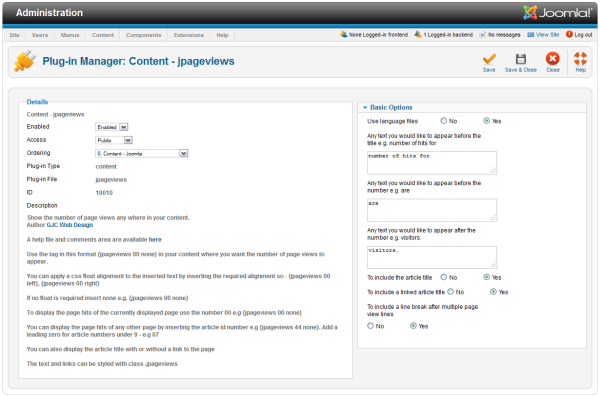 jpageviews joomla_plugin 2.5