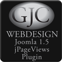 Joomla 1.5 page views hits Plugin logo