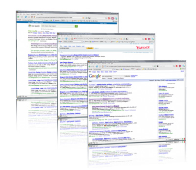 google yahoo windows live search